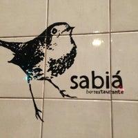 Photo taken at Sabiá Bar e Restaurante by Jonathan W. on 1/17/2013
