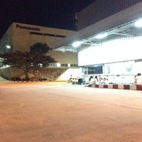 Photo taken at Panasonic Manufacturing (Thailand) Co.,Ltd. by A-air D. on 6/24/2014