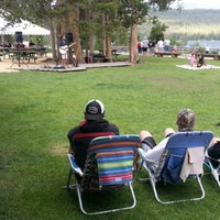Photo taken at Redfish Lake Lodge by Scott N. on 7/4/2013