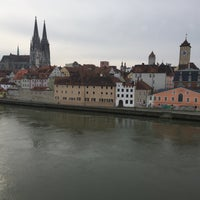 Photo taken at SORAT Insel-Hotel Regensburg by GuoZheng A. on 2/28/2016