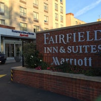 Photo taken at Fairfield Inn & Suites New York Brooklyn by Michael D. on 11/13/2016