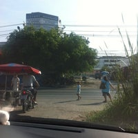 Photo taken at Yaek Krungthep Kritha Market by KA W. on 2/9/2014