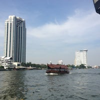 Photo taken at Shangri-La Hotel, Bangkok by Stan C. on 12/24/2012