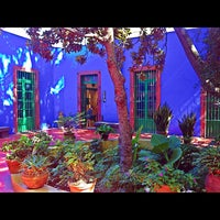 Photo taken at Museo Frida Kahlo by Miss Roxy M. on 7/20/2013