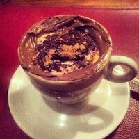 Photo taken at John John Cafe by Mayara L. on 4/22/2013
