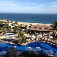Photo taken at Pueblo Bonito Sunset Beach Resort & Spa by Alejandra U. on 4/26/2013