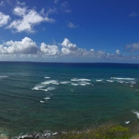 Photo taken at Diamond Head Scenic Point by su a. on 8/5/2016