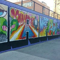 """Photo taken at Graffiti Hall Of Fame by I am that girl """"Lauren""""® on 1/6/2016"""