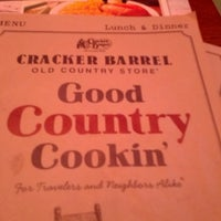 Photo taken at Cracker Barrel Old Country Store by Heather B. on 5/13/2013