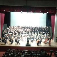 Photo taken at Teatro Escola Basileu França by Caio H. on 4/28/2013