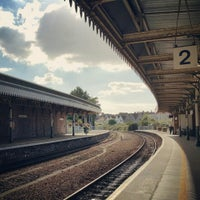 Photo taken at Weston-super-Mare Railway Station (WSM) by Alexander K. on 10/1/2015