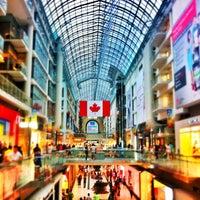 Photo taken at CF Toronto Eaton Centre by Amir - a. on 7/8/2013