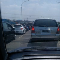 Photo taken at Flyover Ciputat by Wiwin W. on 11/23/2013