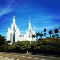 Photo taken at San Diego California Temple by David D. on 3/2/2013
