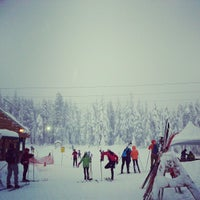 Photo taken at Cypress Mountain Ski Area by Kaishin C. on 12/23/2012