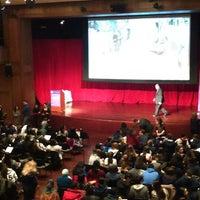 Photo taken at NYU Eisner and Lubin Auditorium by Ping Y. on 3/18/2015