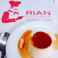 Photo taken at Rian Restaurante by Olga H. on 1/16/2016