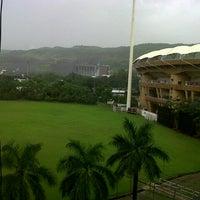 Photo taken at Dr. DY Patil Stadium (डा. डी. वाय. पाटील स्टेडीयम) by Amit S. on 3/17/2013
