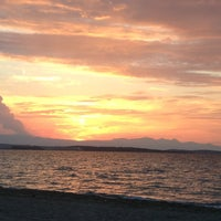 Photo taken at Ilıca Plajı by Nonni M. on 6/13/2013