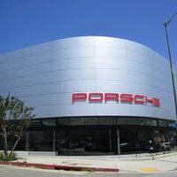 Photo taken at Beverly Hills Porsche Showroom by JayChan on 4/17/2015
