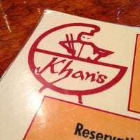 Photo taken at Khan's Mongolian Barbeque by Lindsay L. on 10/13/2012