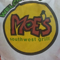Photo taken at Moe's Southwest Grill by Douglas S. on 9/27/2013