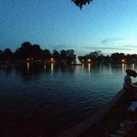 Photo taken at Byrd Park Boat (Fountain) Lake by James L. on 7/5/2013