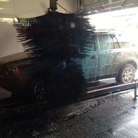 Photo taken at Mister Car Wash & Express Lube by Jett G. on 6/19/2014
