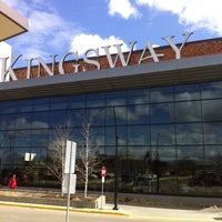 Photo taken at Kingsway Mall by Bonnie S. on 5/1/2014