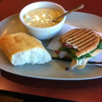 Photo taken at Panera Bread by Dita M. on 11/8/2012