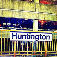 Photo taken at LIRR - Huntington Station by Bryan B. on 9/6/2013