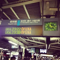 Photo taken at JR 横浜駅 3-4番線ホーム by Yohei S. on 5/10/2013