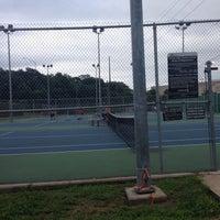 Photo taken at Austin High Tennis Center by Manda M. on 5/18/2016
