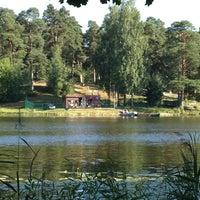 Photo taken at Bābelītes ezers by Līga V. on 8/3/2013