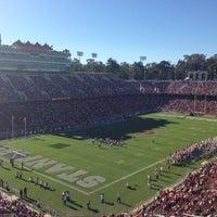 Photo taken at Stanford Stadium by Jim W. on 10/27/2012