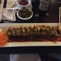 Photo taken at Sushi Factory by Oscar C. on 10/23/2016