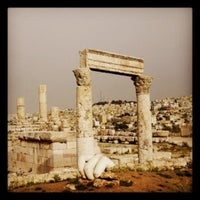 Photo taken at Amman Citadel by L T. on 12/6/2012