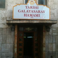 Photo taken at Tarihi Galatasaray Hamamı by Lambros K. on 11/2/2012