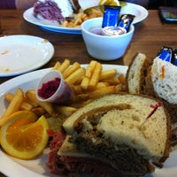 Photo taken at The Bagel Deli by Ezra B. on 10/27/2011