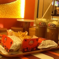 Photo taken at A&W by Fina N. on 4/27/2013