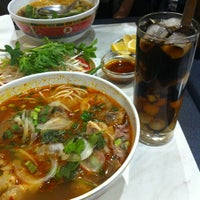 Photo taken at Pho Dong-Huong by Chester C. on 6/29/2013