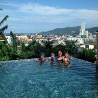 Photo taken at Patong Cottage Resort Phuket by Pang P. on 10/12/2013