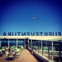 Photo taken at Aeropuerto de Fuerteventura (FUE) by Miguel A. on 8/17/2013
