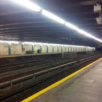Photo taken at MTA Subway - 20th Ave (N) by Yunis E. on 8/5/2013