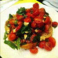 Photo taken at Olio Pizzeria by yas on 11/25/2012