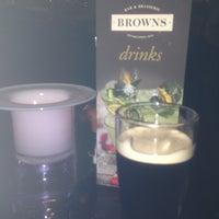 Photo taken at Browns Bar & Brasserie by Vanda V. on 12/7/2013