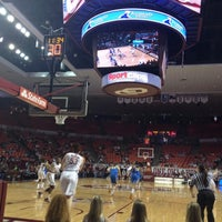 Photo taken at Lloyd Noble Center by ctaylorou on 11/15/2012