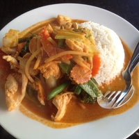 Photo taken at Newtown Thai by Bryan suk C. on 6/30/2014