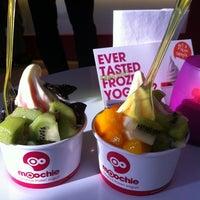 Photo taken at Moochie Frozen Yogurt by Scarlett A. on 4/10/2013