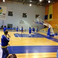 Photo taken at ELEKTRUM Olimpiskais sporta centrs by Luīze B. on 4/21/2013